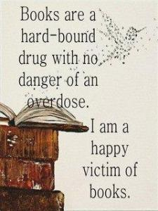 Books - no danger of overdose