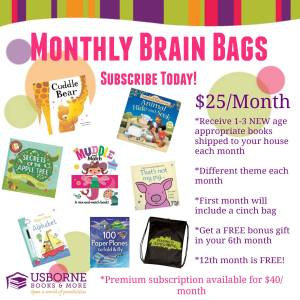 Monthly Brain Bags Subscription